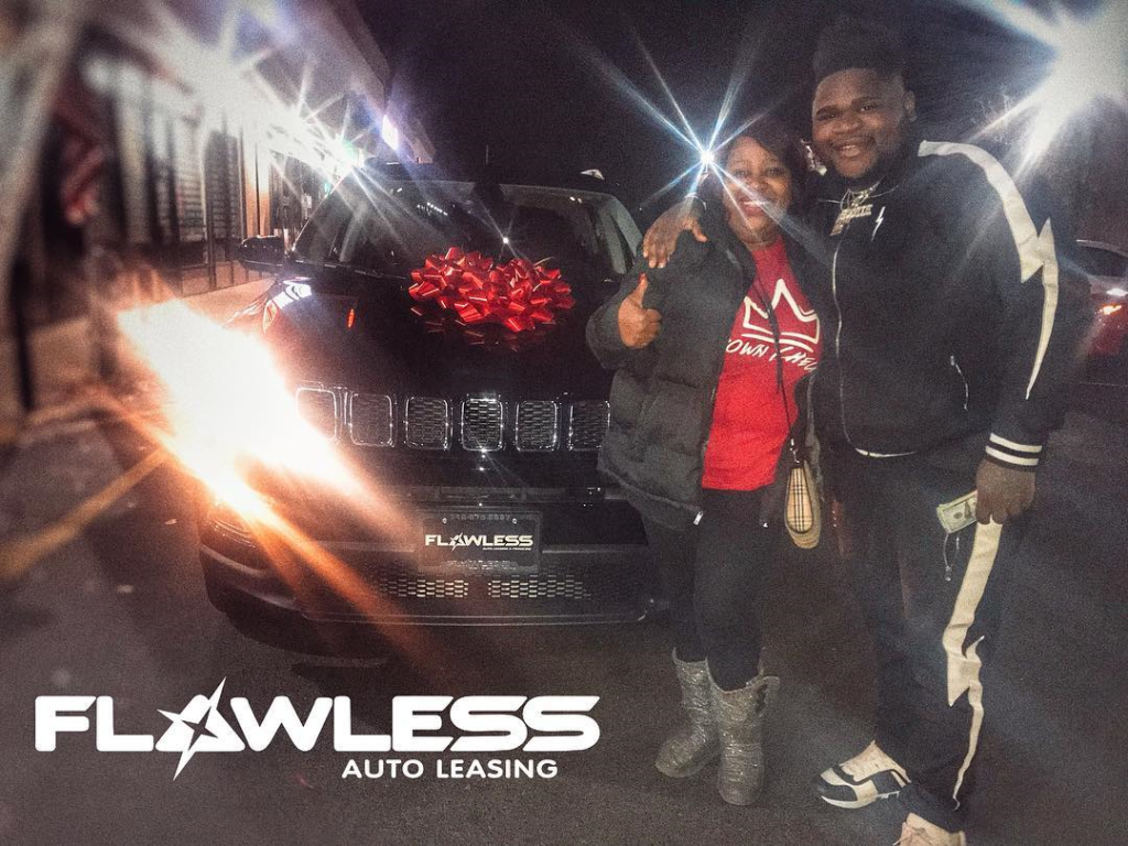 Congrats To @fatboy_sse on buying his Mom a brand new car!